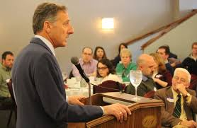 montpeculiar one foot out the door shumlin plays media critic