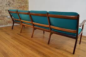 Rosewood Laminate Flooring Ole Wanscher Danish Rosewood Four Seat Sofa Galaxiemodern