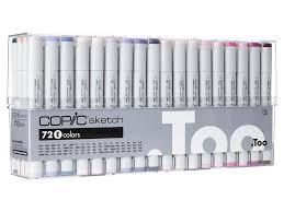 copic sketch markers 72 color set e