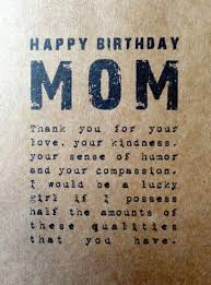 mom birthday card sayings from daughter best 25 50 birthday quotes