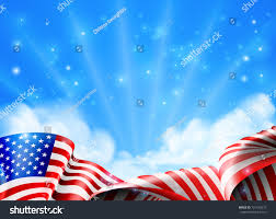 A American Flag Pictures American Flag Political Patriotic Background Design Stock Vector