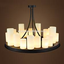 faux pillar candle chandelier lighting lighting rustic real candle chandelier lighting l faux pillar