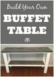 make your own buffet table 60 best buffet tables images on pinterest credenzas antique