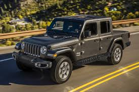 jeep wrangler pickup spotted testing 100 2019 jeep wrangler pickup spy photos reveal more about