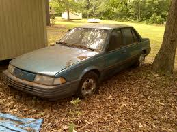 curbside classic 1992 chevrolet cavalier rs u2026neon blue dream machine