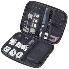 amazon com smart electronics organizer travel case for cable