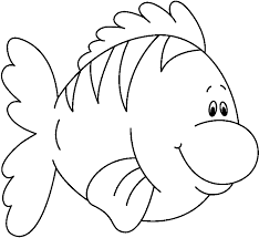 fish outline clip art clipartion