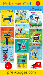 pete the cat rhyming activity story books kindergarten and cat