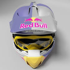 red bull motocross helmet sale motocross helmet 3d model cgtrader