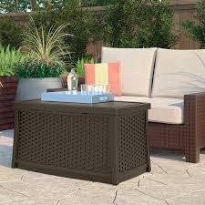 furniture suncast deck box design and suncast wicker deck box ideas