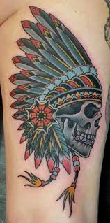 skull by phatt german the lines and coloring