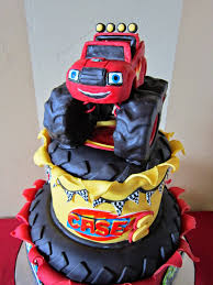 monster jam truck party supplies blaze and the monster machines cake google search trent party