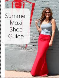 what shoes do i wear with a maxi dress marionberry style