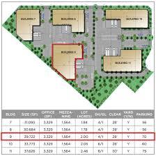 industrial building floor plan building 9 39 722 sf mira loma industrial center