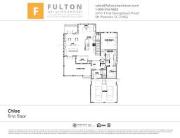 Charleston Floor Plan by 2415 T Old Georgetown Road Mount Pleasant South Carolina 29466 For