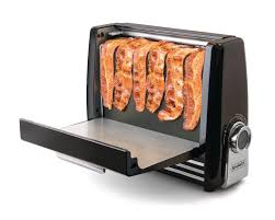 Easy Clean Toaster You Can Now Buy A Bacon Toaster And It Helps Cut Down On Washing