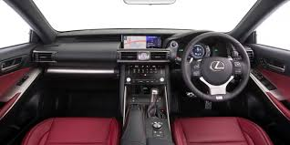 lexus is300h specs uk 2017 lexus is model range pricing and specs new looks and more