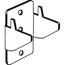 kirsch lockseam double curtain rod brackets