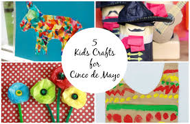 5 kids crafts for cinco de mayo