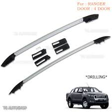 Car Roof Box Ebay by Aluminum Real Roof Rack Bar Fit Ford Ranger T6 Mk2 Xlt Px Ute