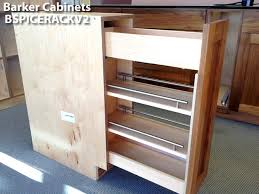 Pull Out Cabinet Shelves by Pullout Spice Rack Cabinet