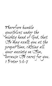 bible verse on thanksgiving 1 peter 5 6 7 scripture memory wallpaper for iphones