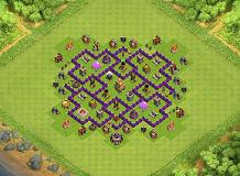 layout coc town hall level 7 th7 base layouts top 1000 clash of clans tools