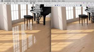 High End Laminate Flooring Creating A High End Wood Surface Material In Archicad Youtube