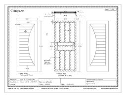 door frame specification compuart
