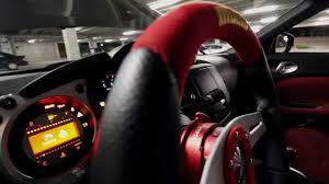 nissan 370z steering wheel nissan 370z amuse body kit youtube