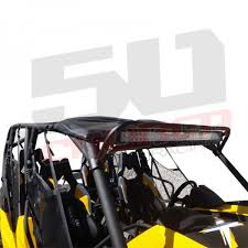 roll bar mount led light can am maverick 1000 max utv 40in light bar roll cage mount rack