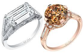 neil emerald cut engagement rings unique engagement rings bravobride