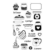 cuisine amour ton clear set de 23 tons amour cuisine