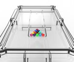 Mustang Pool Table Transparent Pool Table