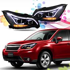 red subaru forester 2015 amazon com win power 2013 2014 subaru forester headlight assembly