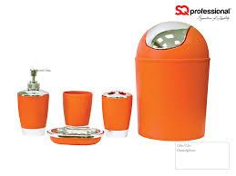 orange bathroom decorating ideas design ideas orange bathroom set fresh accessories interior