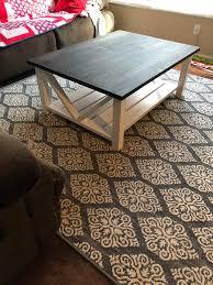farmhouse style coffee table farmhouse style coffee table woodworking