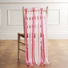 chair ribbons wedding chair ribbons in lipstick pinks by just add a dress