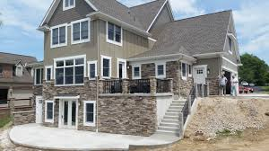 bucks county country ledgestone by boral cultured stone exterior