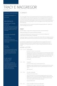 Psychology Resume Examples by Psychologist Resume Samples Visualcv Resume Samples Database