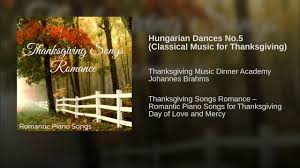 hungarian dances no 5 classical for thanksgiving