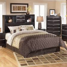kira bookcase bed headboard only signature design by ashley