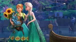 film frozen dari awal sai akhir makin rumit elsa bunuh anna dan ada tarzan di frozen 2 showbiz