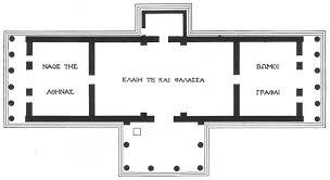 greek temple floor plan an unrealized plan
