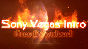sony vegas intro template fire text topfreeintro com