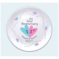 11th anniversary gifts for 11th wedding anniversary gift ideas uk imbusy for