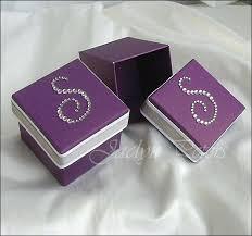 purple wedding favors purple wedding favor boxes lyfy me