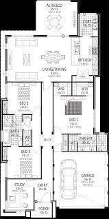 1 Bed House Floor Plans