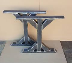 Wooden Pedestal Table Legs Best 25 Trestle Tables Ideas On Pinterest Farm Style Table