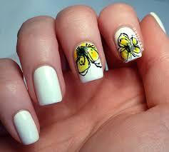 suitable cool nail art for this charming season weddings eve
